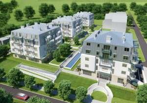Aquamarina - nowy kompleks czterech budynków apartamentowych