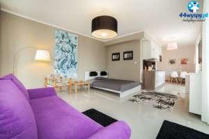 GALERIA - przestronny apartament w budynku Pegaz