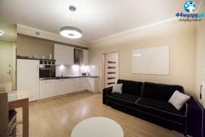 Piękny apartament z ogromnym tarasem w budynku Pegaz