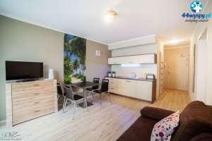 Dwupokojowy apartament nad Bałtykiem blisko plaży